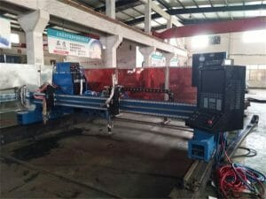 Aluminiu-Gantry-CNC-plasma-flacără-Cutting-Machine45